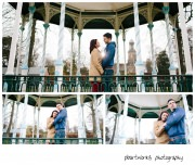 shropshire wedding photographer with couple at pre wedding shoot