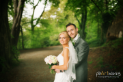 artistic wedding photographer Shropshire