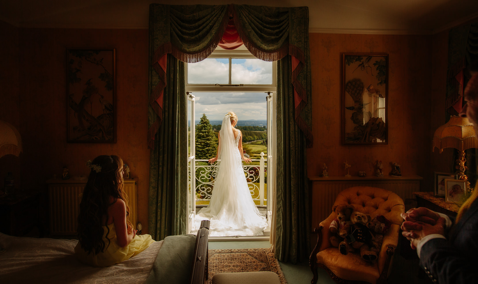 Shropshire Wedding Photography with a beautiful bride