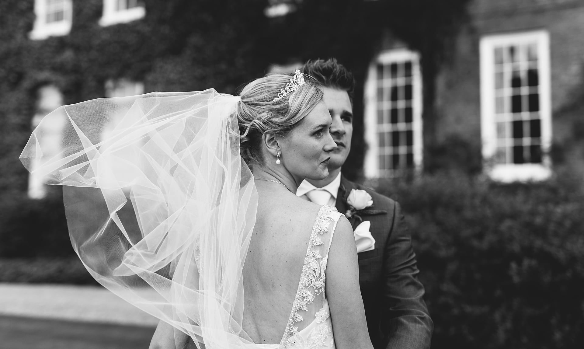 Andy and Sarah at Delbury Hall Shropshire