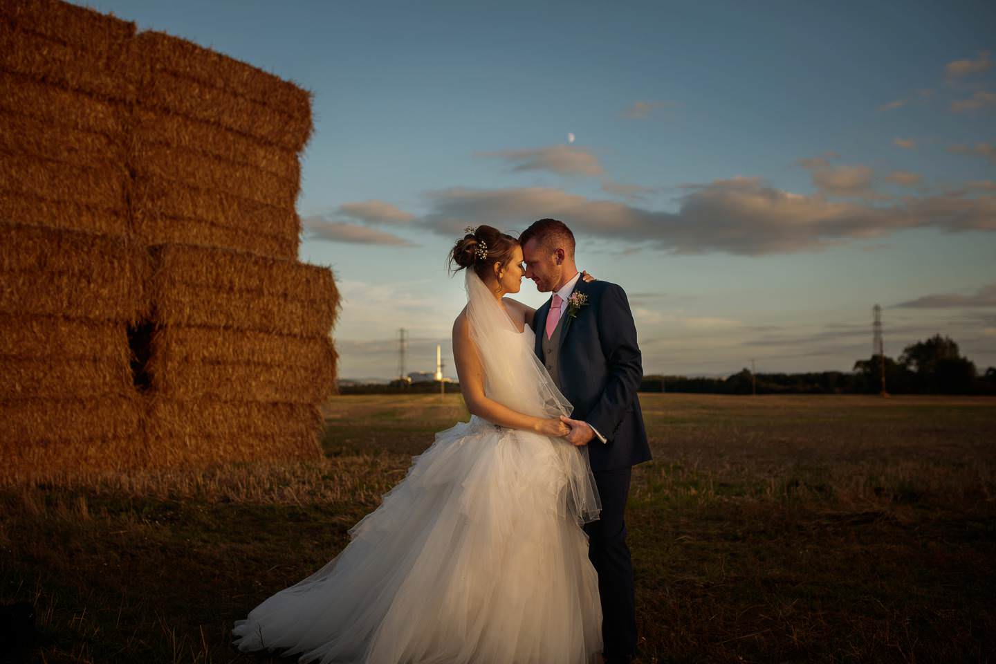 gorgeous shropshire wedding photography with a bride and groom at albright hussey manor hotel