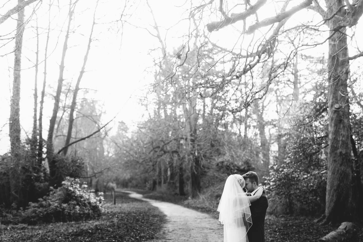 Bride and groom in Ellesmere shropshire captured by Lion Quays Wedding Photographer pbartworks