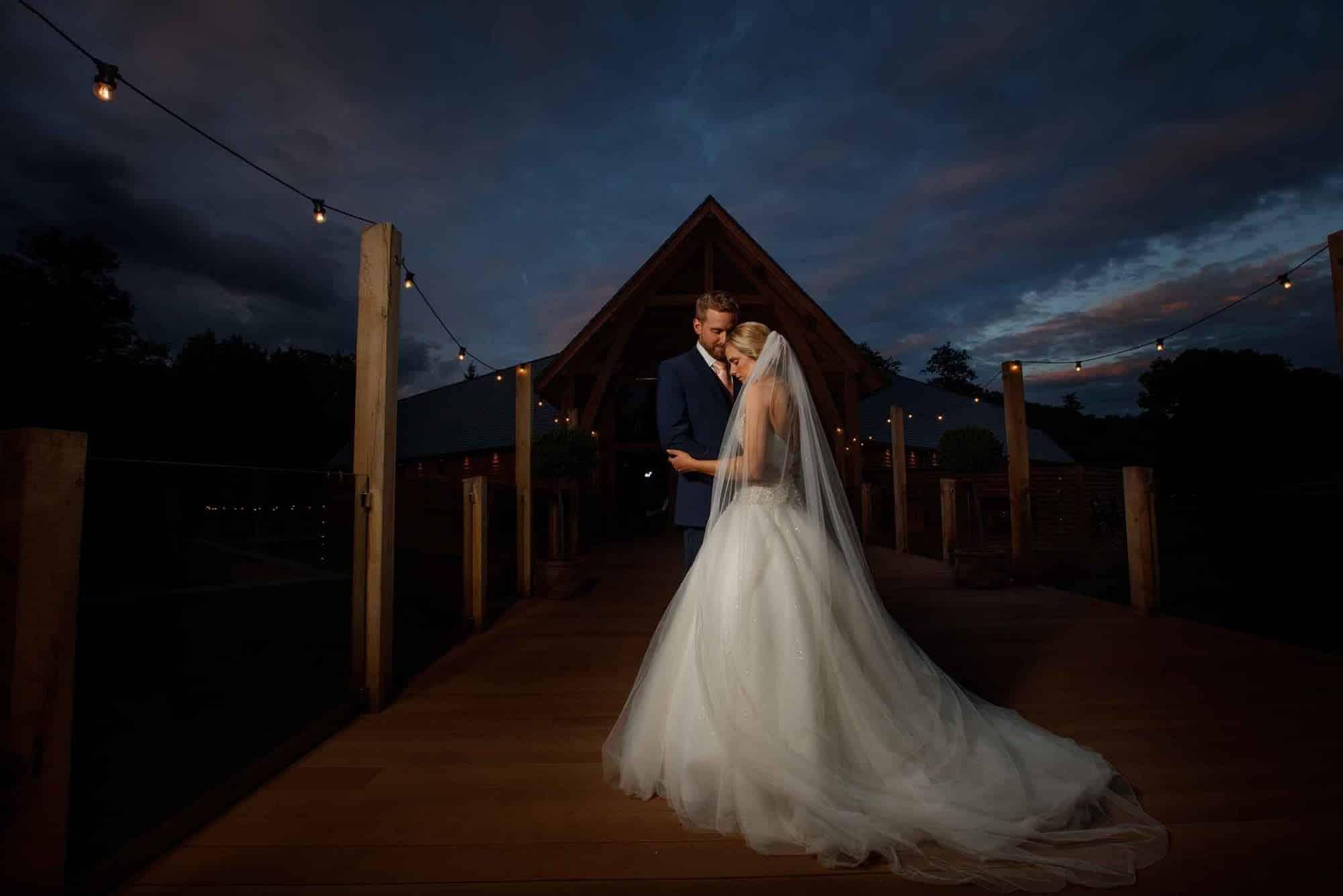 shropshire wedding photographer at Mill Barns
