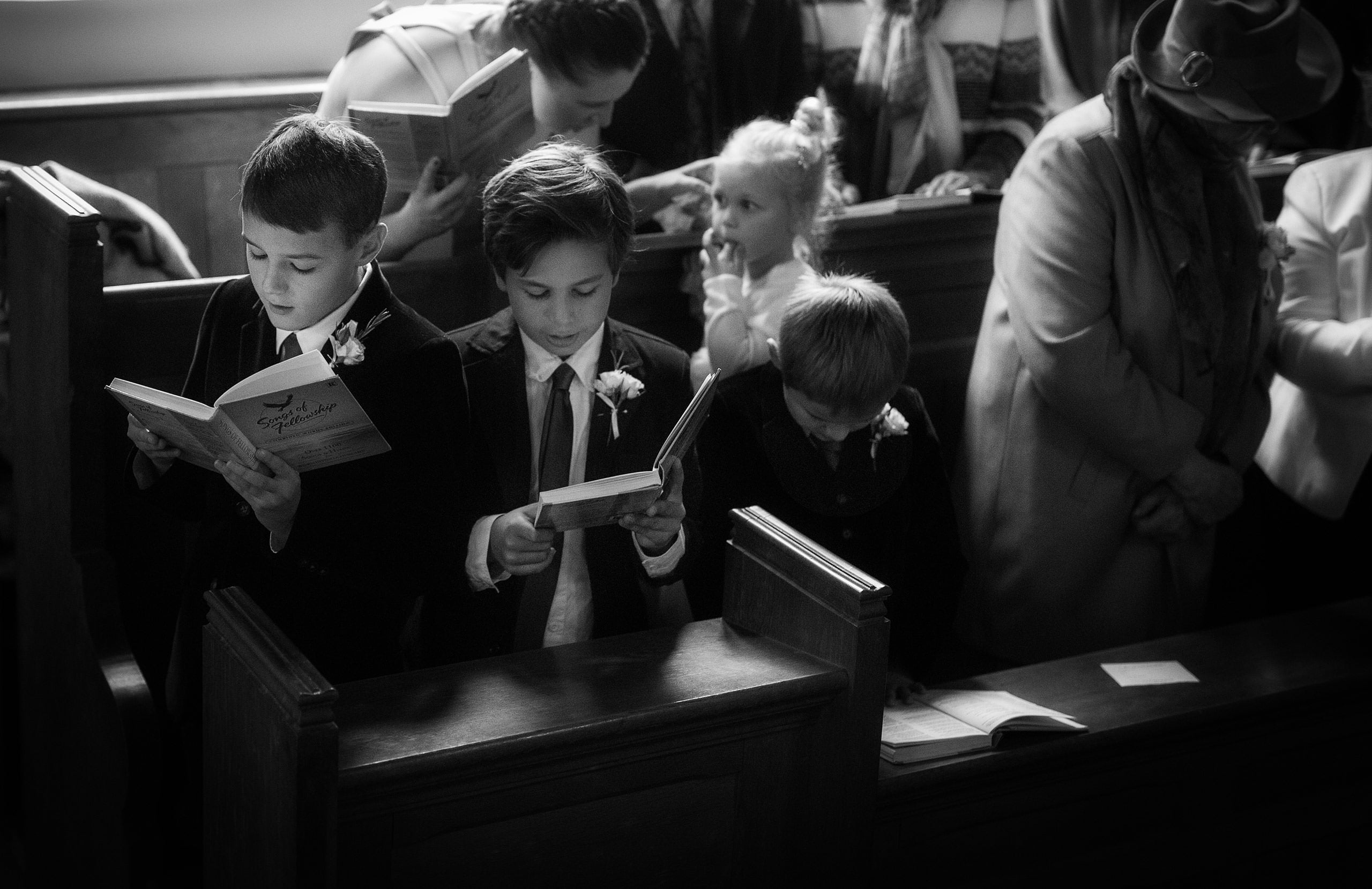 Shropshire Documentary Photographer in Church