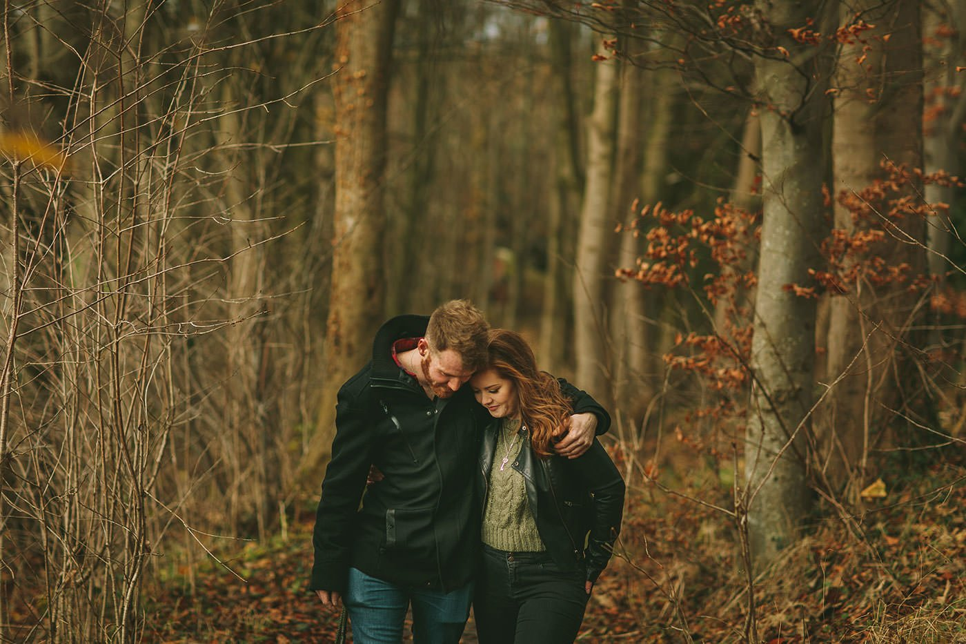 Shropshire pre wedding shoot
