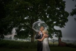 A Thundery Shropshire Wedding In Ellesmere