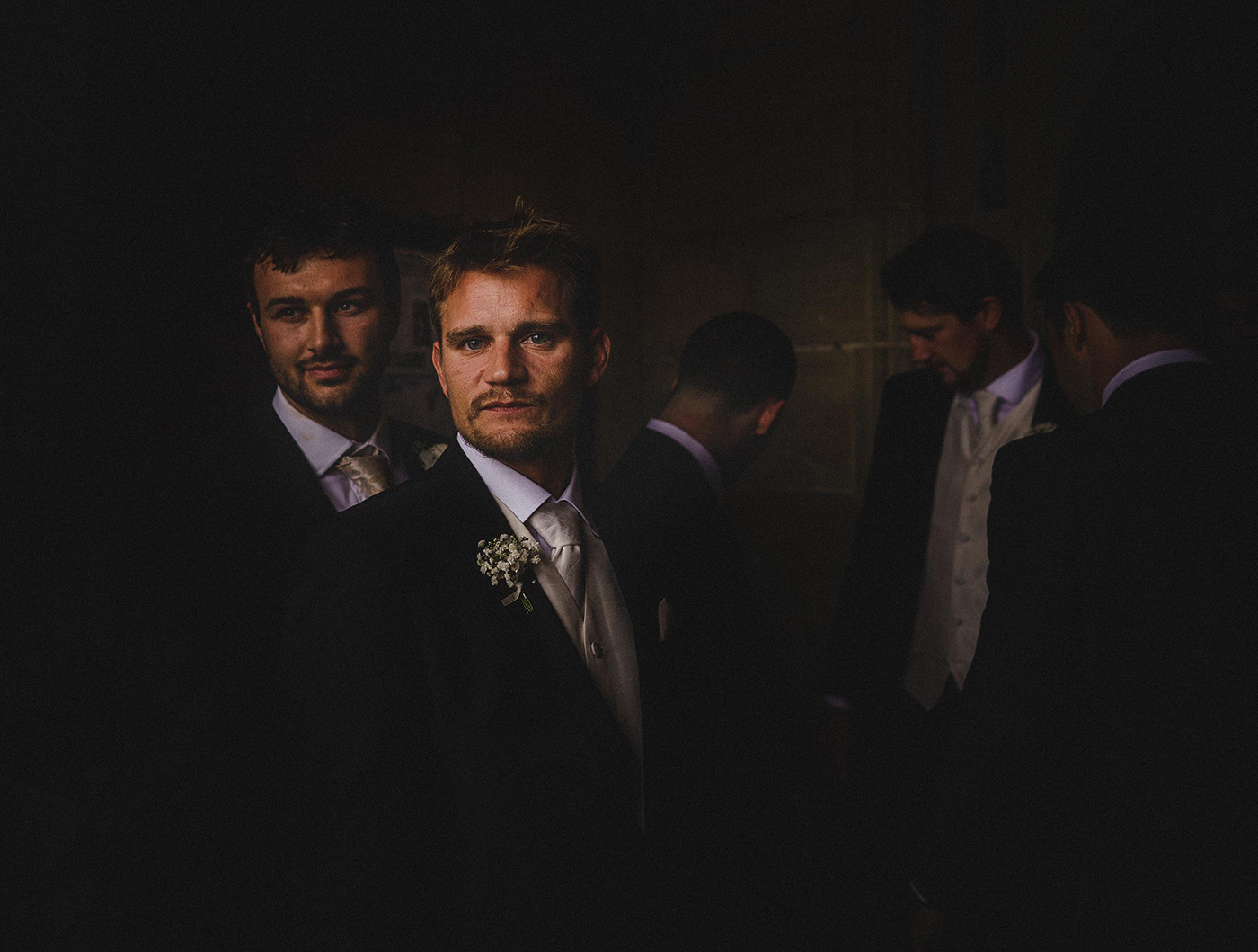 a best man's portrait