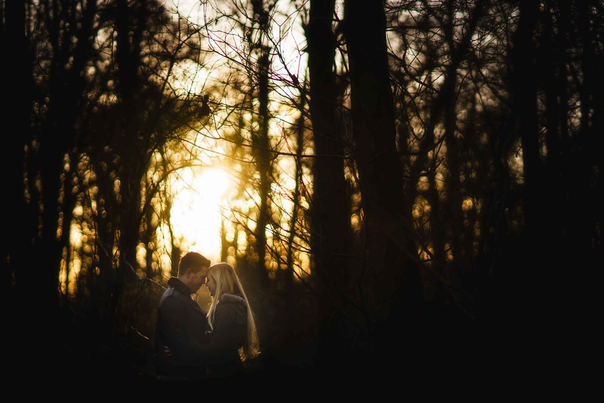 shropshire wedding and portrait photographer captures portrait of young couple