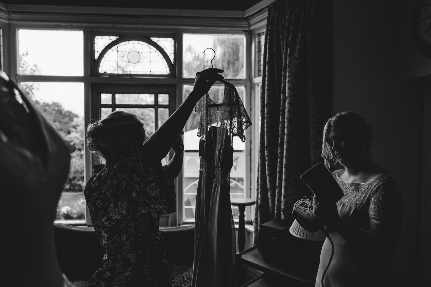 shropshire wedding photographer captures candid moments at wedding