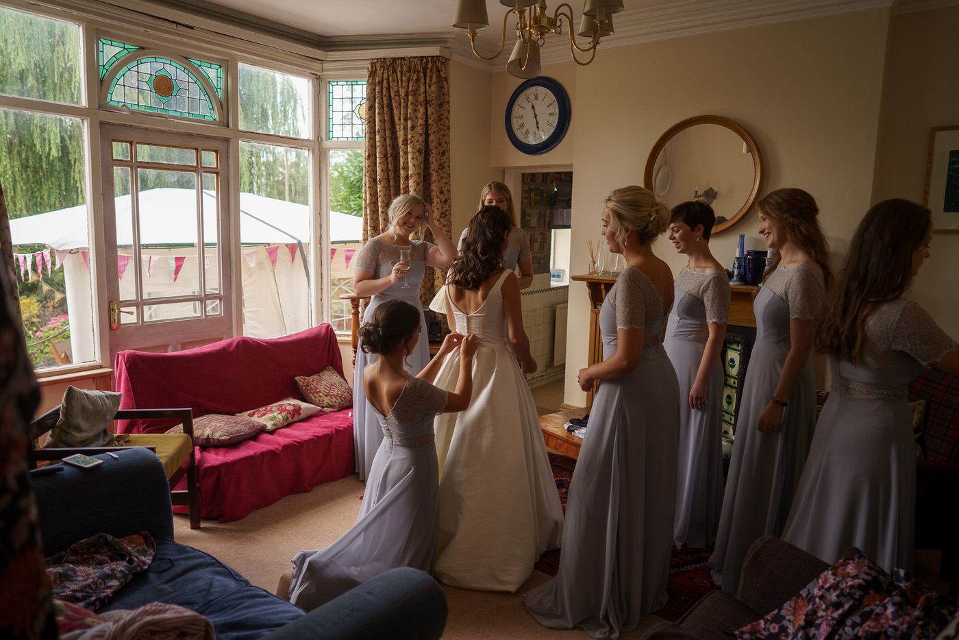 wedding photographer in shropshire captures candid moments at wedding