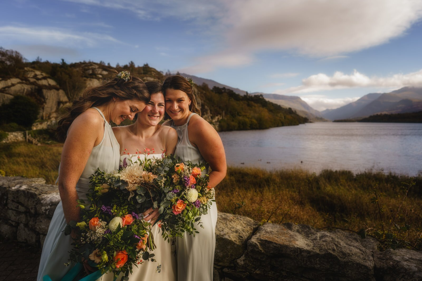 Snowdonia Wedding Photographer at Llyn Gwynant