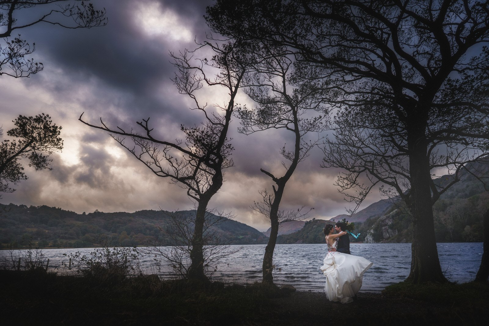 Snowdonia Wedding Photographer at Llyn Gwynant Barns