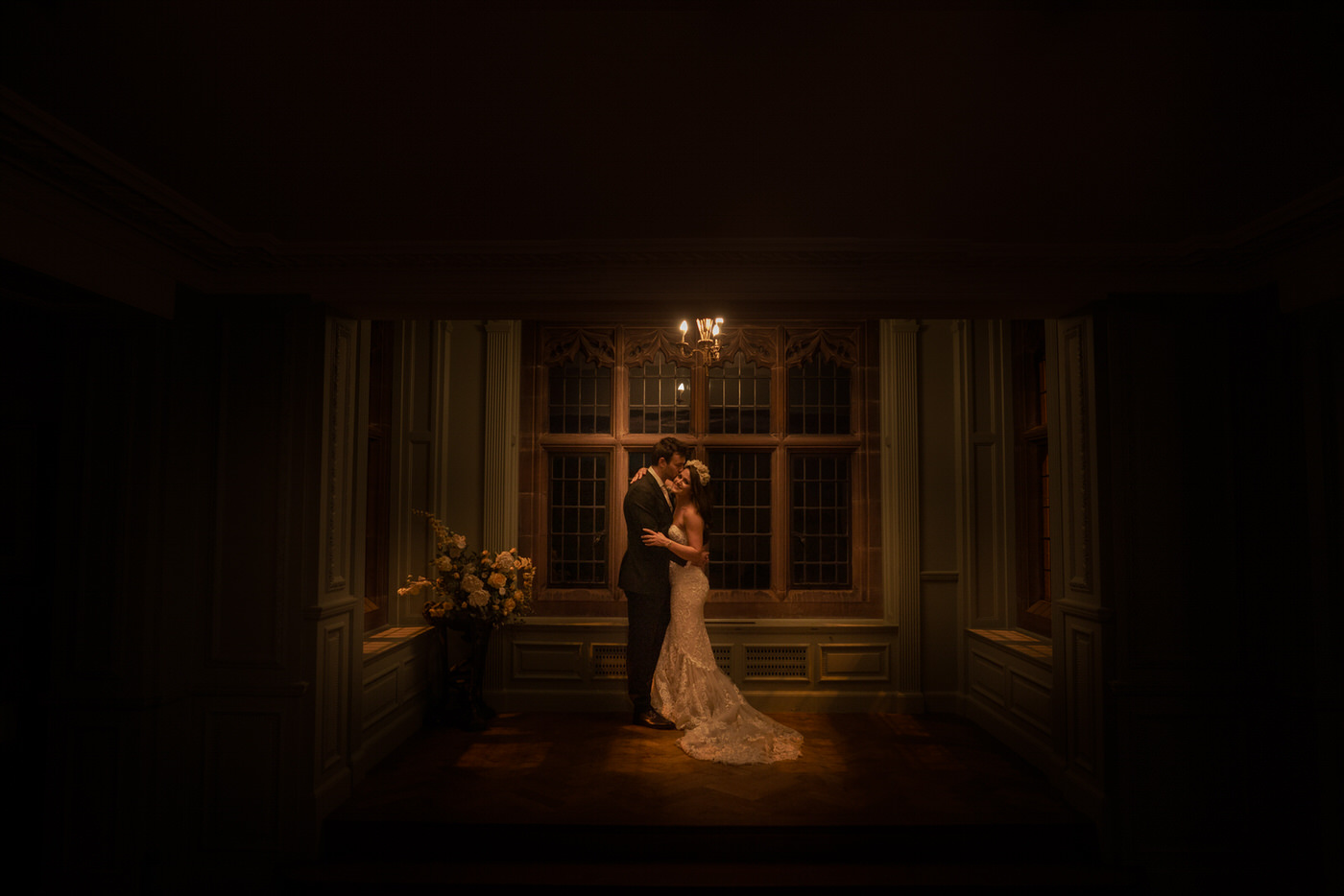 Thornton Manor makes the perfect backdrop for the bride and groom